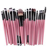 Hot Sale Professional 20pcs/set Makeup Brushes Sets tools Make-up Toiletry Kit Wool Make Up Beauty Cosmetic Fashion Brush Set Eye Shadow Applicator
