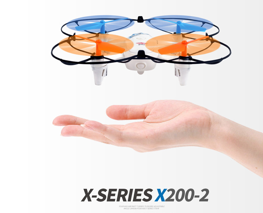 MINI sj X200-2CW Drone with WIFI Camera toys for children gift remote control helicopter quadcopter quad wifi fpv rc drone w606 2 4ch 2 4g 4d roll remote control helicopter with hd adjustable camera 3d roll quadcopter model toys gift