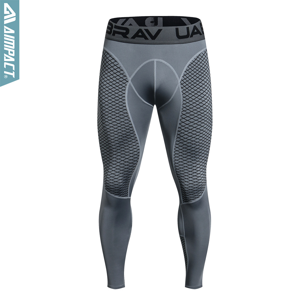 Quick Dry Fitness Pants Men Bodybuilding Basketball Running Legging Breathable Compression Pants Elastic Gym Yogo Tights AM5105