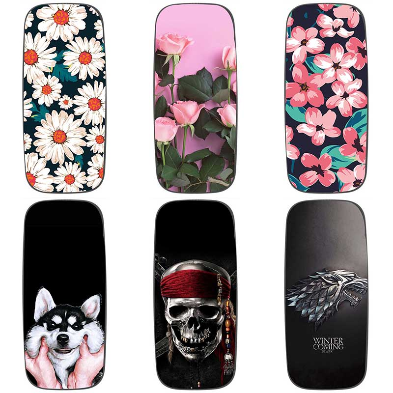 For <font><b>Nokia</b></font> <font><b>105</b></font> <font><b>2017</b></font> Soft silicone Phone <font><b>Cases</b></font> For <font><b>Nokia</b></font> <font><b>105</b></font> <font><b>2017</b></font> Soft TPU Material Back Cover Coque Print painting Flower style image