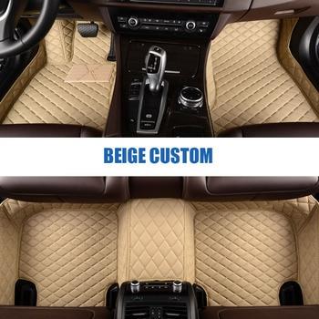 Custom car floor mats for peugeot all models 307 206 308 407 207 406 408 301 3008 car accessories car styling floor mat peugeot 307 aksesuar
