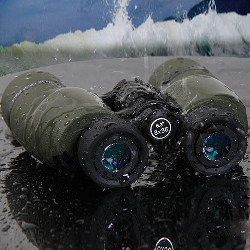 American Military Binoculars Rolriss Catch Telescope Nitrogen Inflator Waterproof High Hd LLL Wide-angle Binoculars Telescope bosma surf 7x18 binoculars multi coated waterproof binoculars pocket telescope viewing telescope
