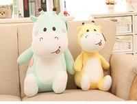 creative naughty giraffe large 50cm plush toy soft doll sofa cushion throw pillow birthday gift w1727
