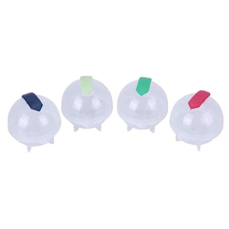 4.8 ซม.ลูกบอลน้ำแข็ง Moulds DIY ค็อกเทลหน้าแรกใช้ทรงกลมลูก Ice Cube ผู้ผลิตไอศกรีมแม่พิมพ์