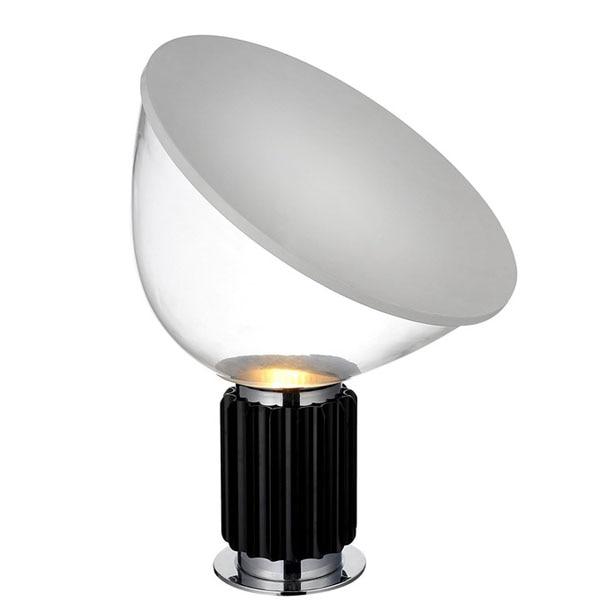 Nordic Glass Shade LED Table Lights Radar Desk Lamps Decoration Lamp Satellite Lamp Bedroom Bedside Lighting Table Lamp Flexible