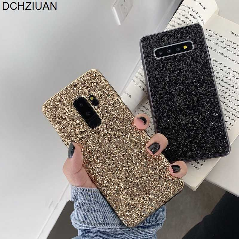 DCHZIUAN Luxury Bling Glitter Phone Case For Samsung Galaxy Note 8 Note 9 Note10 S10 Plus Cover Case For Samsung S8 S9 Plus Capa