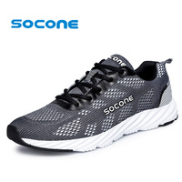 Socone Mens Running Shoes Womens New 2016 Sport Sneakers For Man Fashion Sneakers Women Breathable Walking