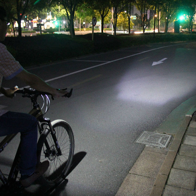 Bike LED Flashlight With Bell