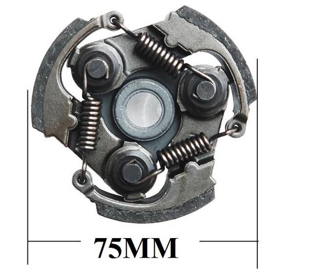 CG411 Robin embreagem apto para cortador de escova aparador de grama 411 NB411 1E40F-6 47cc 49cc Mini pocket bike sapato embreagem pad assy
