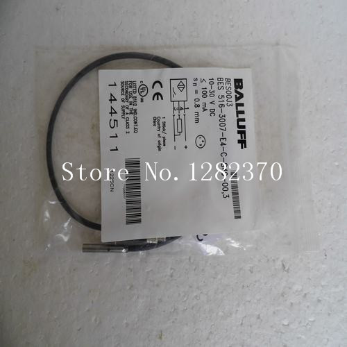[SA] New BALLUFF sensor BES 516-3007-E4-C-S49-00,3 spot quality guarantee for one year balluff proximity switch bes m18mg usc70b bv03