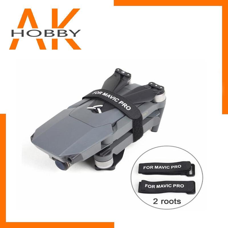 Stabilizer Fixing Strap 2 Pcs/Pair For DJI Mavic 2 Pro Motor/Propellers Clip Belt Holder Transports Protection
