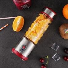 Новое поступление 500 мл портативный мультический соковыжималка Бутылка Чашка электрический USB Перезаряжаемый блендер лучшие продажи Прямая поставка