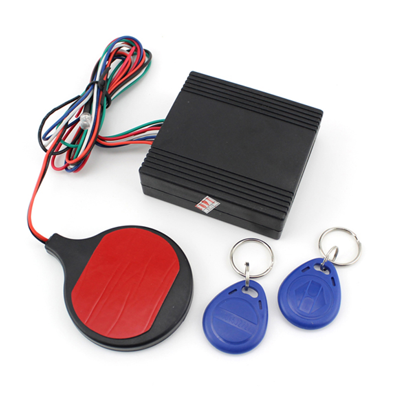 100% Brand New DC12V Smart ID Card Induction Invisible Alarm Sensor Motorcycle Anti-theft Device High Quality Free Shipping купить дешево онлайн