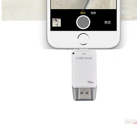 Fusb flash disk 64 gb 32 gb 16 gb 8 gb para iphone 5/6 usb Unidad Flash Pen Drive de Alta Velocidad USB 2.0 OTG Teléfono Móvil