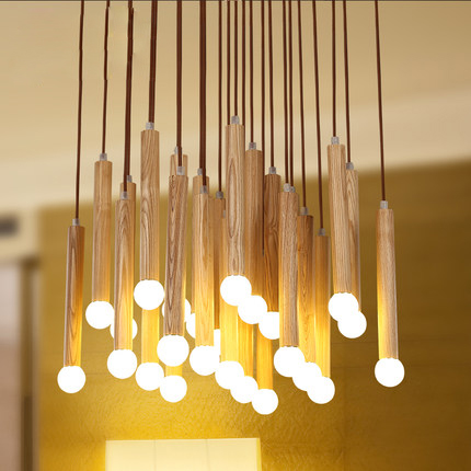 Modern AC 110/220V Led Cord Acrylic Crystal Pendant Lighting Fixture For Living Room luminaria teto Lamp For Home Decoration