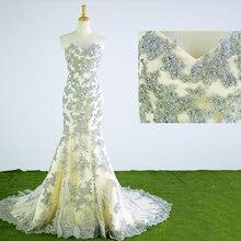 HIRE LNYER 2019 Full Appliques Mermaid Wedding Dresses