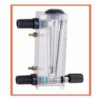 LZM-15 com válvula de controle (0.3-3GPM (1-11LPM) medidor de fluxo (medidor de fluxo) lzm15/painel de medidores de vazão de Líquido Ferramentas de Medição E Análise