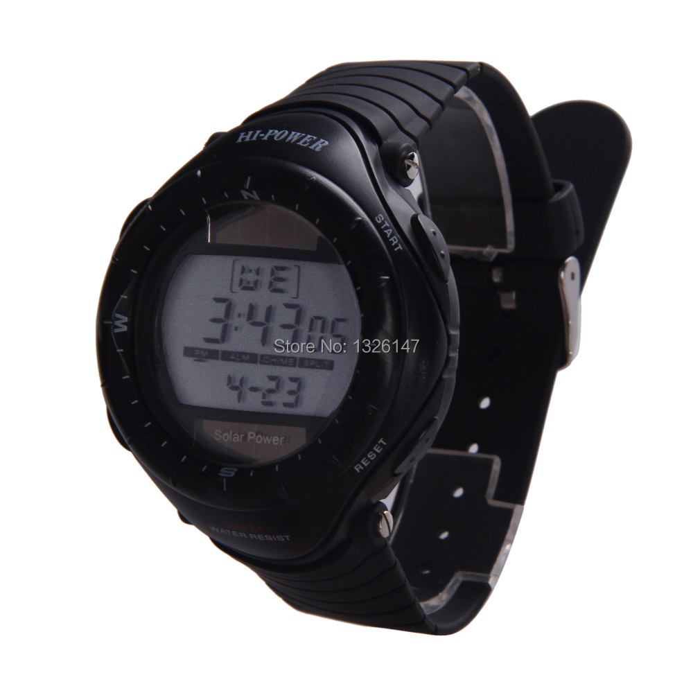 watches casio power g digital shock analog watch solar