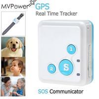 MVPower Tracker Mini Niños SIM GSM GPRS Localizador Dispositivo de Seguimiento De Llamadas Anti Perdido