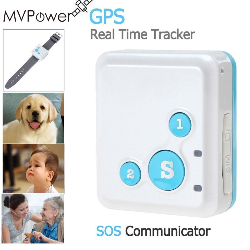 Traqueur MVPower Mini enfants SIM GSM GPRS dispositif de suivi d'appel Anti-perte localisateur