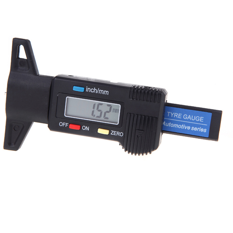 Auto Car Universal Tyre Tire Tread Depth 0-25.4mm Test Range Gauge/Check/Tester Measuring Tool With Digital LCD Display