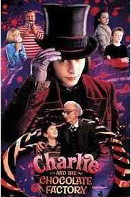 Charlie And The Chocolate Factory 2005 Film Johnny Depp SILK POSTER Decorative Wall painting 24x36inch