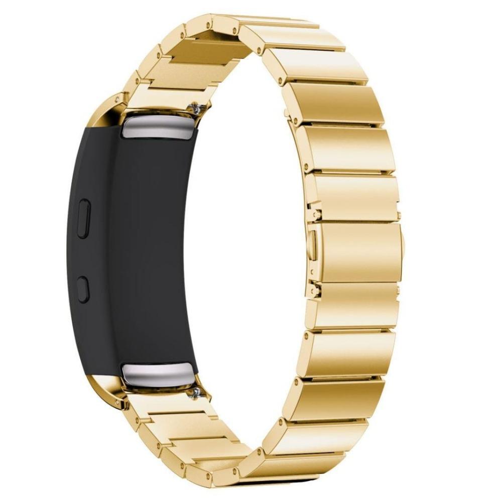 Gear Fit2 Watch Band  Gear Fit2 Stainless Steel Bracelet Strap Replacement Band Wristband For Samsung Gear Fit 2 SM-R360