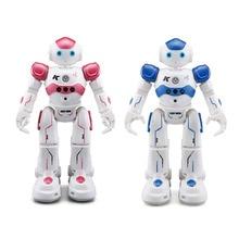 JJRC R2 зарядка через usb Танцы жест Управление Радиоуправляемый игрушечный робот интеллектуальная программа для Для детей подарок на день рождения