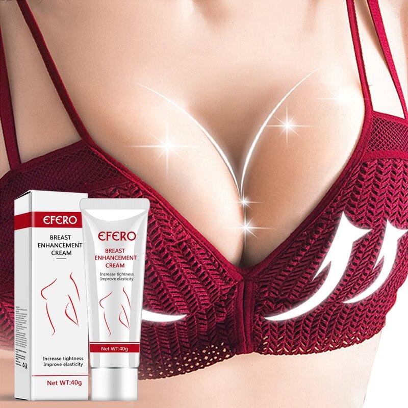 Busto Impulsionar O Levantamento de Creme Da Ampliação Do Peito Peitos Maiores Aumentar Aperto Grande Busto Creme Potenciador de Mama Cuidados Creme EFERO