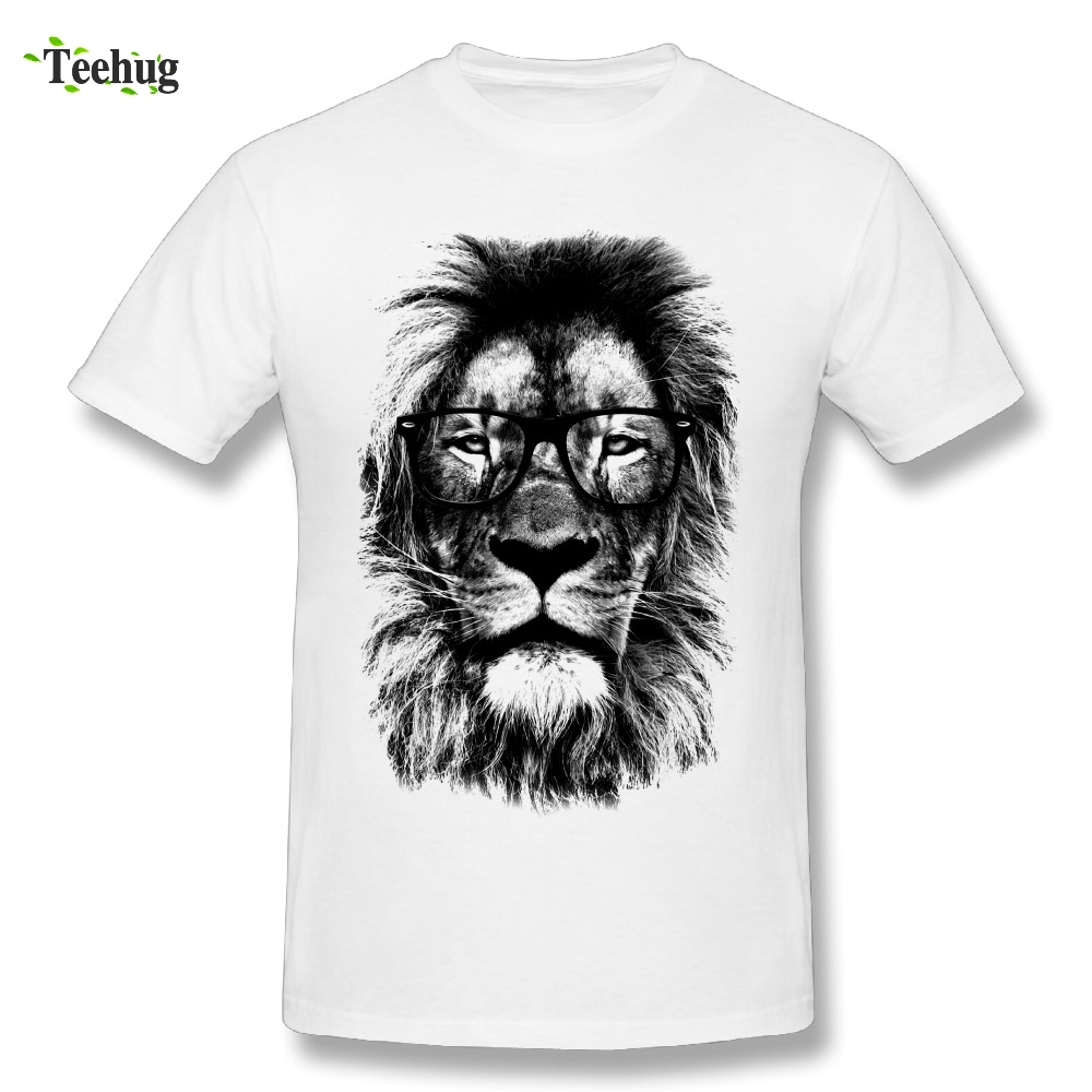 Cool Male The King Lion T Shirts Men Awesome 3D Print Graphic Homme Tee Shirts Fashion Camiseta
