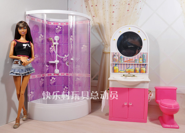 Free Shipping,New Arrival Christmas/Birthday Gift Children Play Set Cute BathRoom  Accessories For