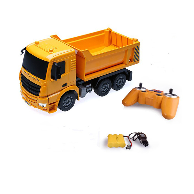 1:26 Rc Truck Dump truck Remote Control Engineering Model Vehicle Toys Loaded Sand Car RC Toy