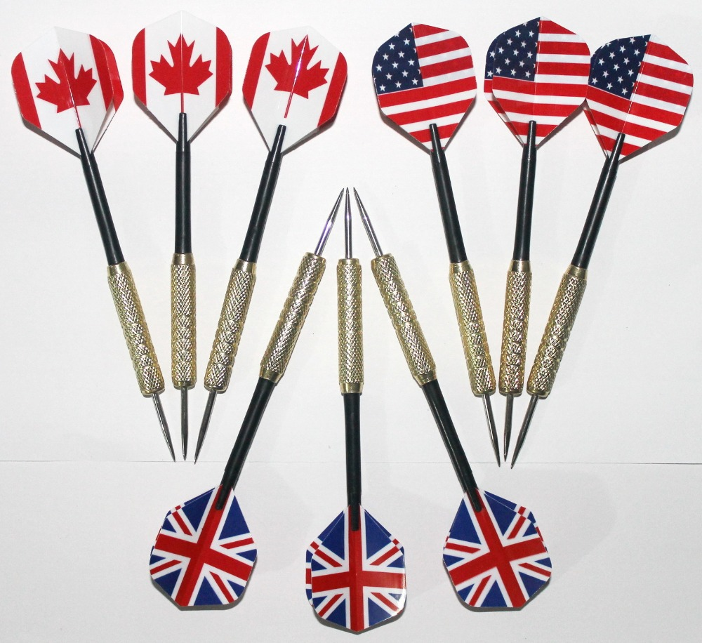 Free Shipping Copper Dart Needle Darts 20 Kinds Of American Flag Pattern Selection  B1