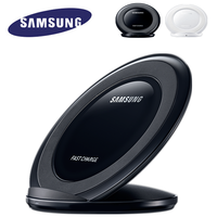 Original Samsung Drahtlose Ladegerät Qi Pad Schnelle Ladung Für Samsung Galaxy S10 S9 S8 Plus S7 rand Note10 +/iPhone 8 Plus X,EP-NG930