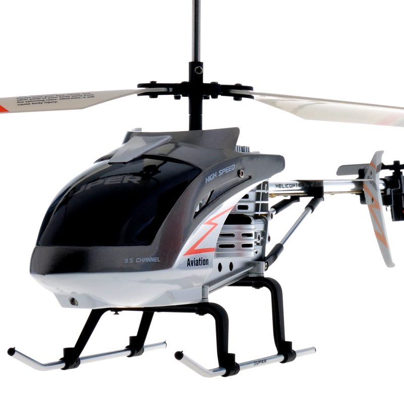 Free Shipping RC helicopter 3 5CH large scale RC Helicopter remote Control  plane with led lights gyro shock resistant kids toys-in RC Helicopters from