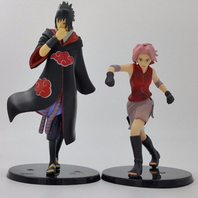 Naruto Sakura Sasuke 130mm Pvc Action Figures Toy Anime Naruto