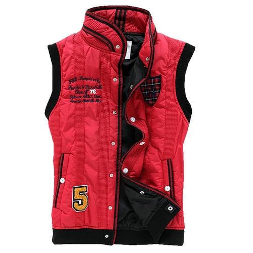 Free shipping men down cotton vest thickened winter sleeveless jacket coat JPXYF16
