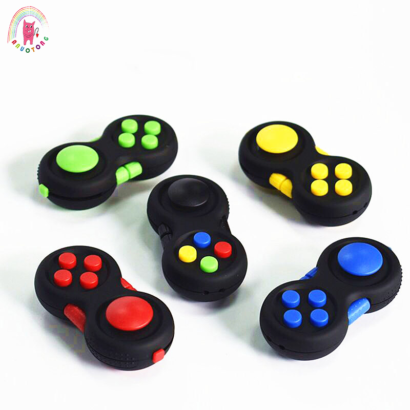 Stress Reliever Squeeze Fun Magic Cube Toy Handle Anti-stress Toys Stress Rainbow Strange-shape Puzzles Fidget Toys