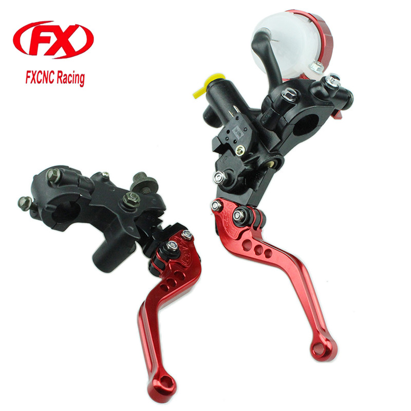 FX CNC 125-600cc Motorcycle Brake Clutch Levers Master Cylinder Hydraulic Brake Cable Clutch For Yamaha Virago XV250 1991 hot sale motorcycle accessories 7 8 hydraulic levers cnc motocross brake master cylinder lever for ktm 105sx 2009 2010 2011