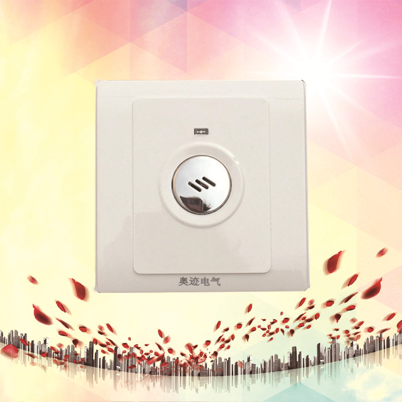 86 Model Hotel Gallery Way Voice Control Time-lapse Switches 220V Sound and Light Controlled Energy-Saving Switch Panel CM009 HH time oak hotel