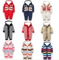 2017 New Baby Rompers Striped Long Sleeve Winter Newborn Baby Clothes New Born Baby Clothes For Boy Girls Ropa De Bebe
