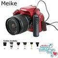 Meike traje de control remoto con cable disparador para nikon d750, D7100, D7000, D5300, D5200, D5100, D5000, D3300 N3 como MC-DC2