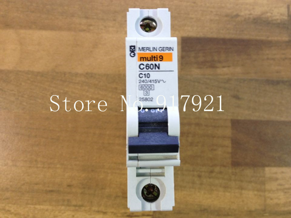 [ZOB] The original   C60N C10 240/415V 1P10A 25802 circuit breaker  --10PCS/LOT[ZOB] The original   C60N C10 240/415V 1P10A 25802 circuit breaker  --10PCS/LOT