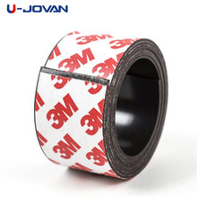 1 Meter 30*1 mm self Adhesive Flexible Magnetic Strip Rubber Magnet Tape width 30mm thickness 1mm(China)