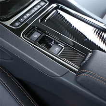 ABS Center Console Electronic Handbrake P-File Frame Decoration Cover Trim For Jaguar XE X760 XF X260 F-Pace X761 2016 carbon fiber style center console gear shift panel decoration cover trim for jaguar xe x760 f pace x761 2016 18 abs modified