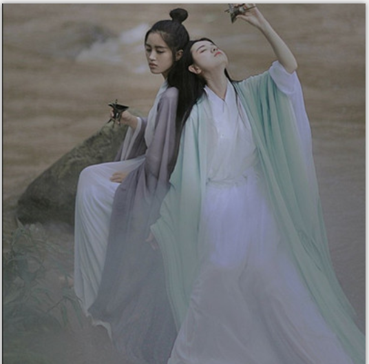 2019 Hanfu National Costume Ancient Chinese Cosplay Costume Ancient Chinese Women Hanfu Clothes Lady Chinese Stage Dress