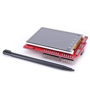 Image 3 - 2.4 pollici TFT LCD modulo Display Touch Screen Shield ILI9340 IC sensore di temperatura a bordo + Penna per Arduino UNO R3 /Mega 2560 R3