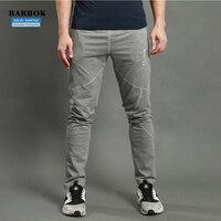 BARBOK חותלות ללבוש ספורט חדר כושר ריצת מכנסיים כושר גברים אתלטים חיצוני ארוך מכנסיים מכנסיים פנאי לנשימה