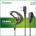 Baofeng Hot vendas E-002 Walkie Talkie Fone de Ouvido Fone de Ouvido para Rádio em Dois Sentidos UV-5R, UV-82, 888 S, 777 S, 666 S