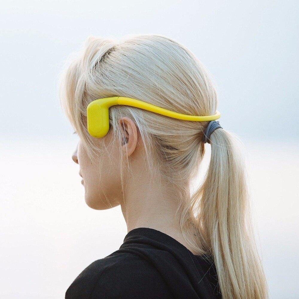 Tayogo IPX8 étanche 8 GB lecteur de musique MP3 sous-marin casque à conduction osseuse avec FM bluetooth Pedo mètre pour le Sport de natation